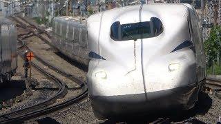 JR東海のN700S新型新幹線試験車両の試運転を見てきた New Shinkansen N700S