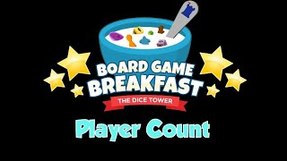 Board Game Breakfast - Player Count