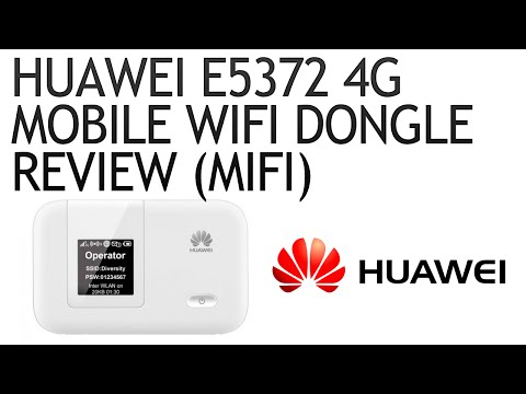 Huawei E5372 4G Mobile WiFi Dongle Review (MiFi) - YouTube