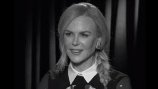 L'interview mobile de Nicole Kidman