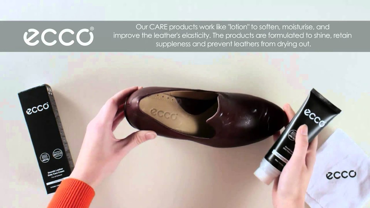 695717d8497 How to Clean Shoes - by Ecco - YouTube