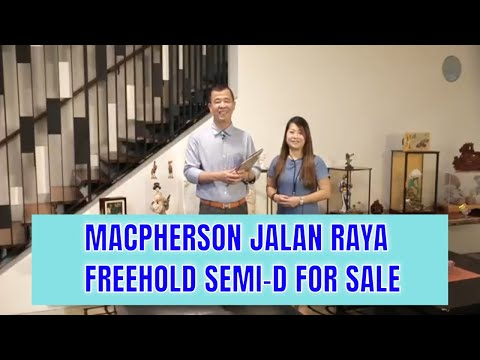Singapore Landed Property Listing Video - Jalan Raya Semi Detached House