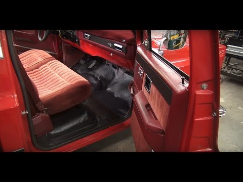How to Install a Molded Industrial Polyvinyl (MIP) Floor Mat | Kevin Tetz with LMC Truck