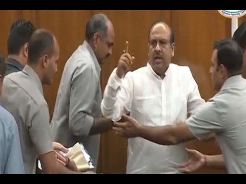 High drama in Delhi Assembly as Speaker asks marshals to evict BJP MLA Vijender Gupta
