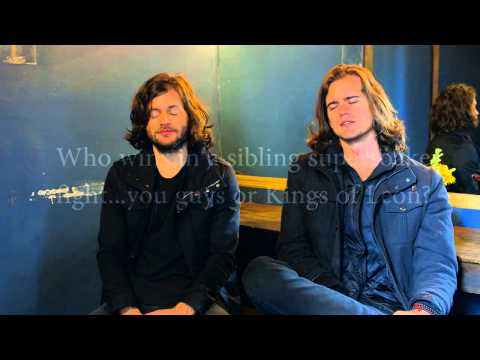 A-Sides Interview: KONGOS (3-9-2015)