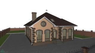 Типовой проект одноэтажного дома на 4 спальни  D-182-ТП(, 2016-10-28T09:34:25.000Z)
