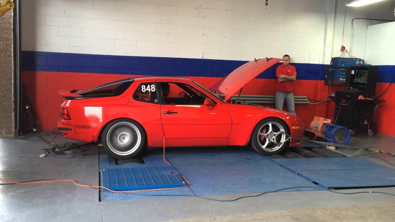Porsche 944 Turbo LS1 Swap Dyno Run YouTube