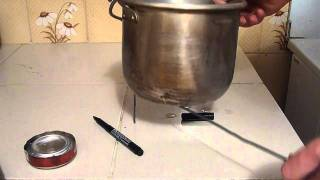 Simple Pot Stand For An Alcohol Backpacking Stove