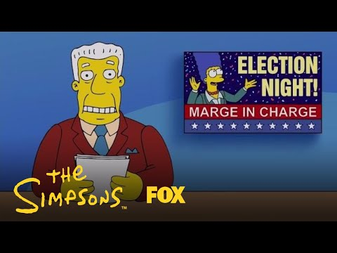 Marge Is Elected Mayor Of Springfield | Season 29 Ep. 6 | THE SIMPSONS