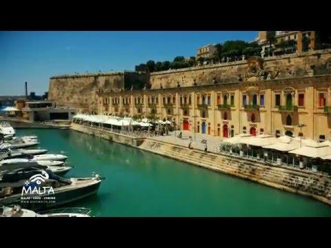 Valletta and Three Cities Drone Footage, Malta