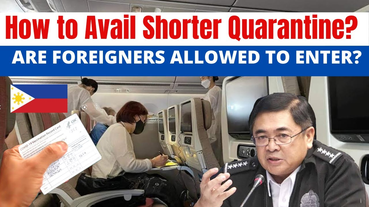 Download HOW & WHERE TO VERIFY VACCINATION CARD/CERT FOR A SHORTENED QUARANTINE?   FOREIGN TOURISTS.... WHEN?