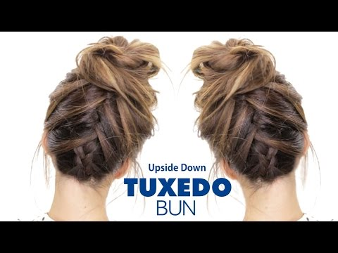 Tuxedo French Braid Hairstyles