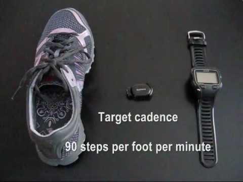 Using the Garmin Footpod to Monitor Running Cadence - YouTube