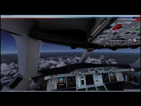 Landing at Mexico City (MMMX) und Frankfurt am Main (EDDF)