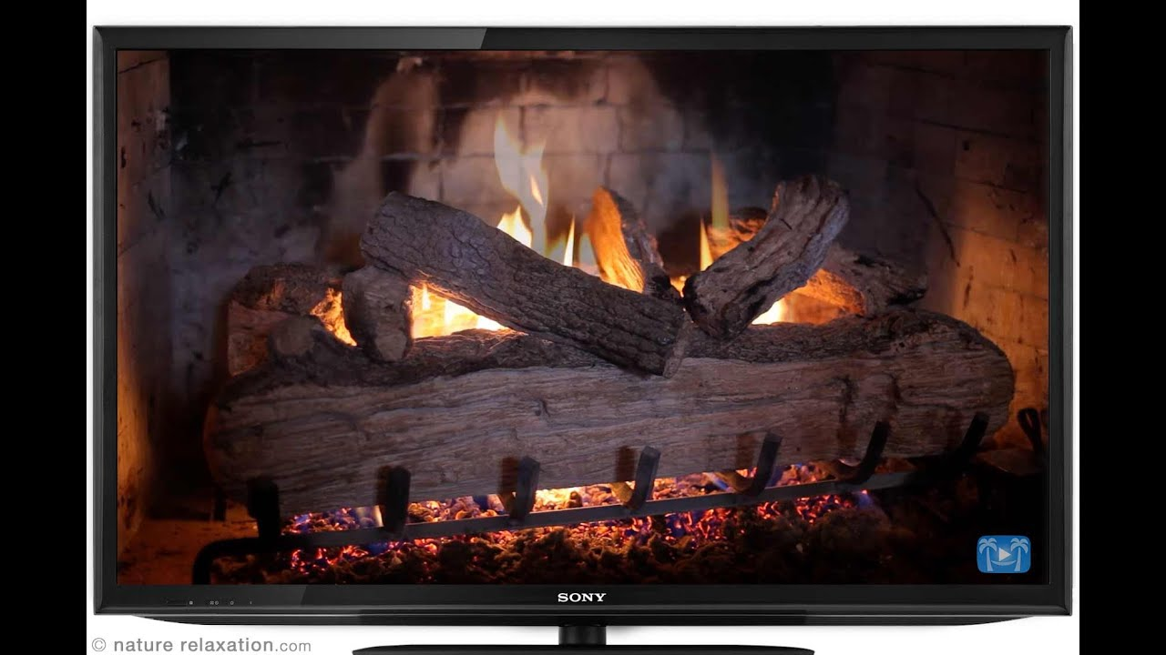 THE BEST HD FIREPLACE VIDEO - 7 HOURS LONG w/ Sounds by Nature ...
