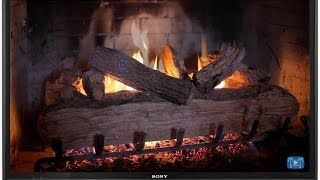 THE BEST HD FIREPLACE VIDEO - 7 HOURS LONG w/ Sounds by Nature Relaxation