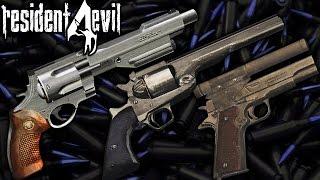 Comparação das MAGNUMS - Broken Butterfly vs Killer 7 vs HandCannon - Resident Evil 4