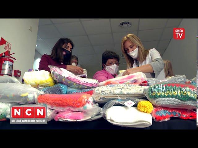 CINCO TV - El Hospital Materno Infantil de Tigre recibió una donación de las Damas Rosadas