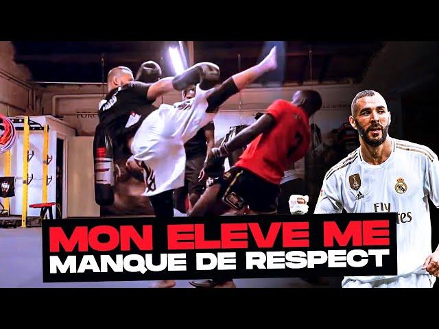 J'AFFRONTE UN DE MES ÉLÈVES QUI ME MANQUE DE RESPECT (ft Karim Benzema )