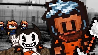 BENDY HELPS PRISONER ESCAPE! LET'S END THIS!😱 - The Escapists 2 WIN (Gameplay Funny Moments Part 5)