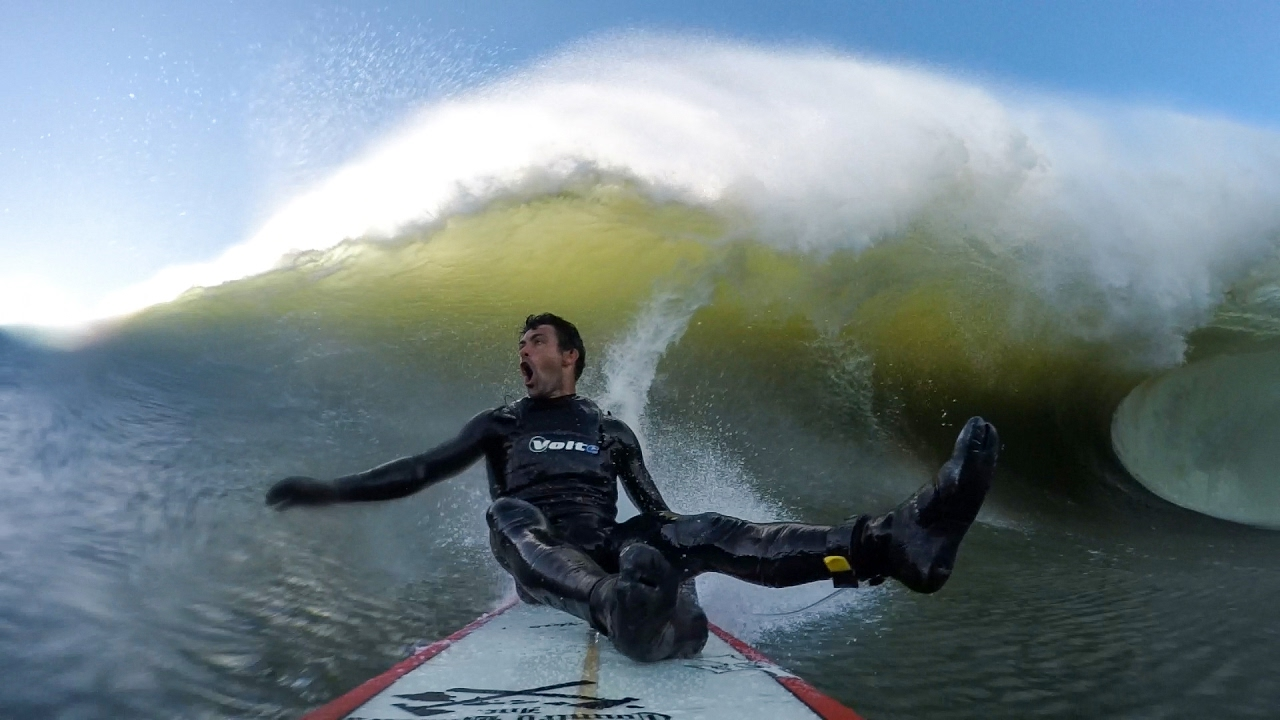 GoPro Surf: Francisco Porcella Takes a Front Row Seat at Mavericks