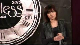 唐泳妮於聖公會陳融中學演唱