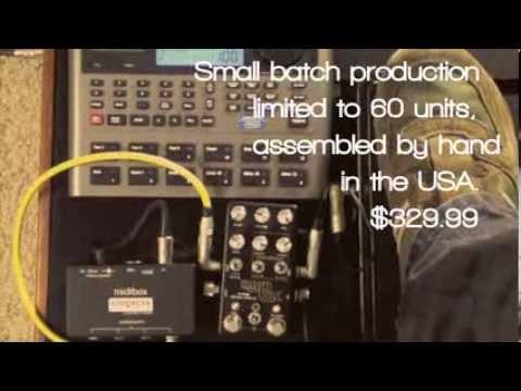 Warped Vinyl Analog Vibrato Chorus Guitar Effects Pedal