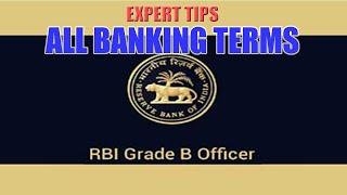 all banking terms abbreviation   rbi grade b phase ii   ibps   sbi   bank exams   apu s education
