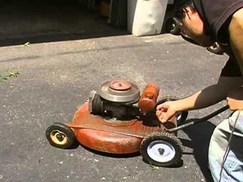 Lawn Boy Iron Horse C 30 Mower Part 2 Of 2 Youtube