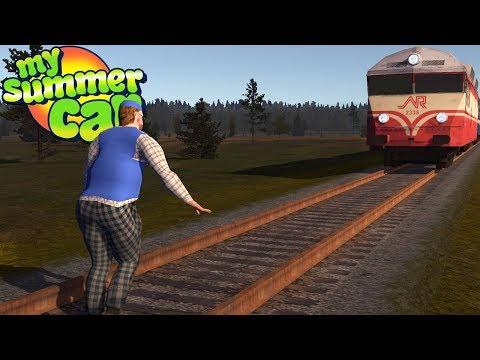 My Summer Car - TEIMO MEETS THE TRAIN
