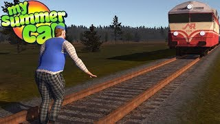 My Summer Car - TEIMO MEETS THE TRAIN