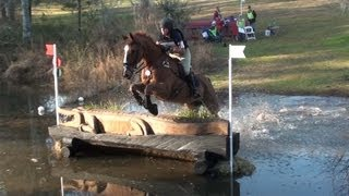 Southern Pines Horse Trials 2 Advanced Water Jump 2013