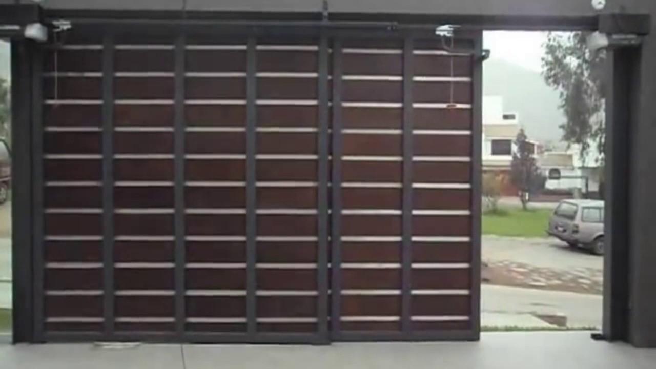 Puertas corredizas youtube for Puertas corredizas de metal