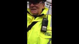 Traffic warden won't ticket the BBC for unknown reasons!!