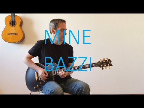 Bazzi - Mine - Electric Guitar Cover (with TABS)