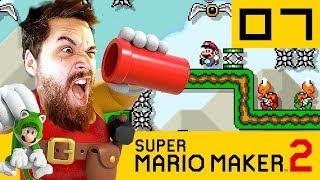MOURIR DANS UN NIVEAU AUTO | Super Mario Maker 2