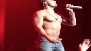 Trey Songz STRIPS ON STAGE And Sings New Single From His Next Album!!
