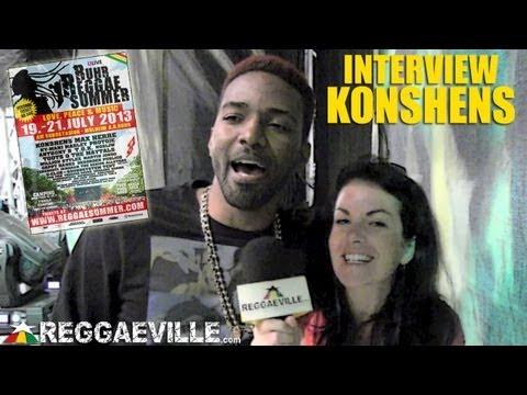 Interview with Konshens @Ruhr Reggae Summer 7/19/2013