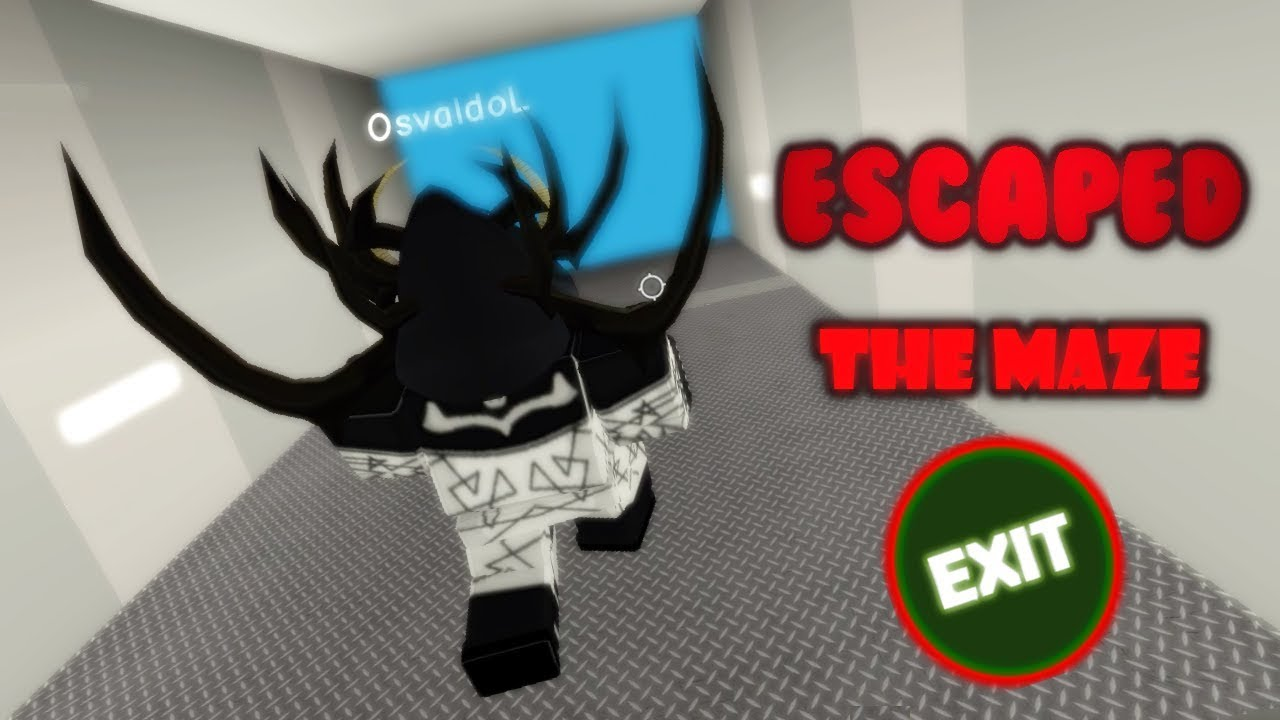 I Escaped The Maze Runner Roblox Old Outdated Roblox The Labyrinth Maze Runner Finding The Escape Youtube