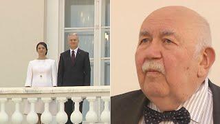 Iškilmingos G. Nausėdos inauguracijos akimirkos ir aštrus D. Katkaus kirtis signatarams