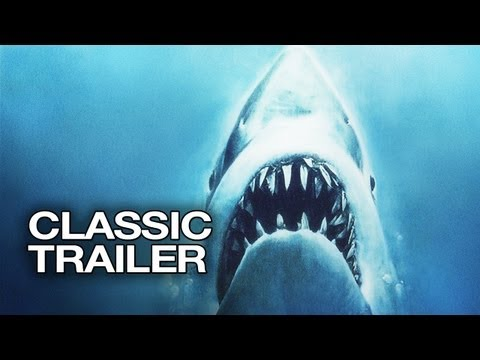 Jaws Official Trailer #1 - Richard Dreyfuss, Steven Spielber
