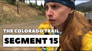 The Colorado Trail, Segment 15: End of Collegiate West to Marshall Pass (mile 261.4 - 267.2)