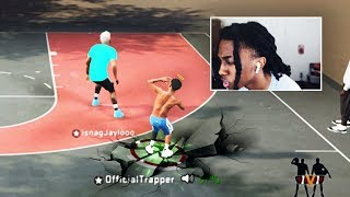 I TOOK OVER THE NEW 1V1 COURT WITH A DEMIGOD BUILD IN NBA 2k20!