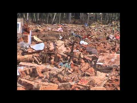 What happened during the Indian Ocean earthquake?