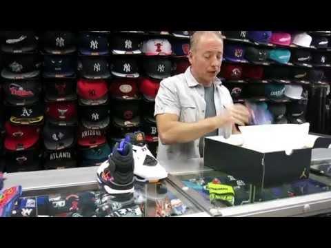 """Nike Air Jordan 8 Retro """"Threepeat"""", at Street Gear, Hempstead NY"""