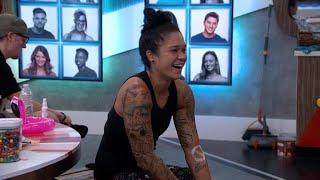 "Big Brother - Kaycee's New ""Tattoo"" (Live Feed Highlight)"