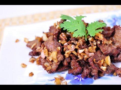 Thai Fried Garlic – Gratium Jeow- กระเทียมเจียว | The ... |Thai Fried Garlic