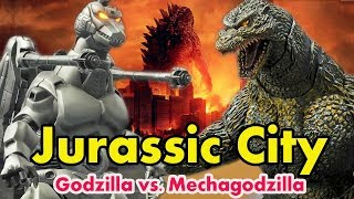 Jurassic City - Godzilla vs Mechagodzilla Full Movie | Latest Hollywood Hindi Dubbed Movie