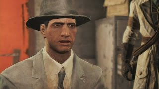 Fallout 4 Talking With Nick Valentine the Synth