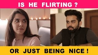 Is He Flirting Or Just Being Nice! Ft. Heli Ved | The Rajat Code